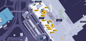 Heathrow Terminal 1 Map