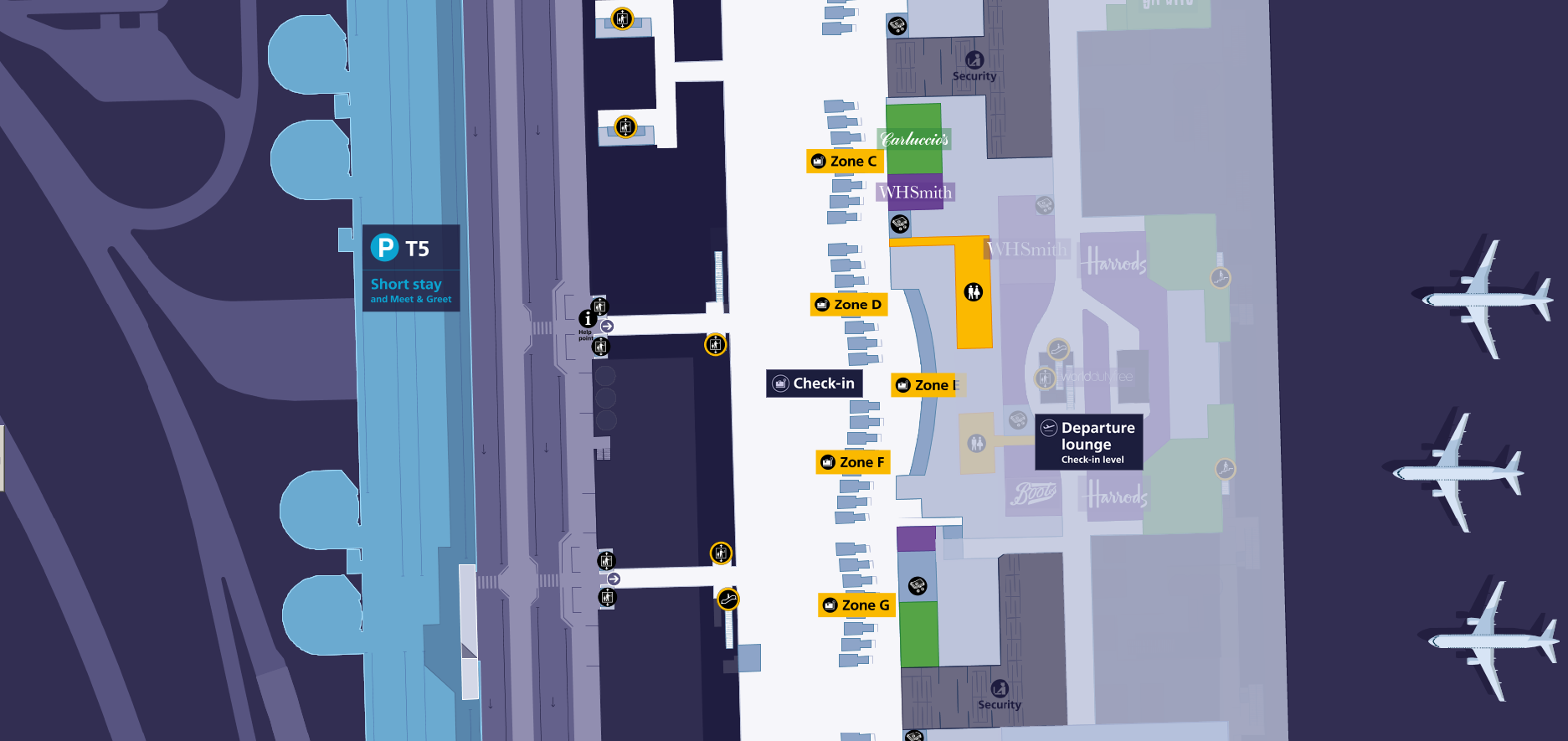 Terminal 5 map heathrow taxis click image to enlarge m4hsunfo